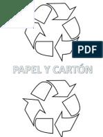 Simbolos de Reciclaje