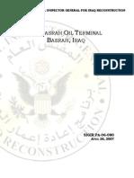 Iraq Oil Terminal