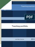 Teaching Portfolio-Mario Sanchez
