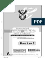 SA Tender Bulletin