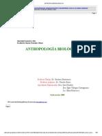 ANTROPOLOGÍA BIOLÓGICA III