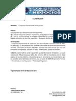 cotizacion congreso.docx