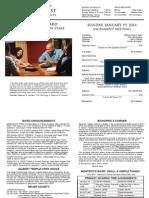 Montecito Bulletin 20140119
