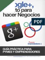 Google+ Abierto Para Hacer Negocios
