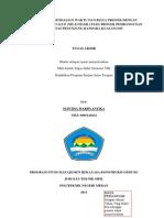 Analisis Pengendalian Waktu Dan Biaya Proyek Metode Earned Value (Nilai Hasil) Pada Proyek Pembangunan Fasilitas Penunjang Bandara Kuala Namu (04-MRKG-TA-2013)