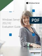Windows Server 2012 R2 Evaluation Guide