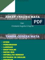 Askep Trauma Mata