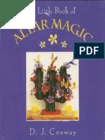 A Little Book of Altar Magic