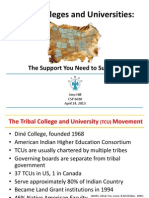 6030 tribal colleges and universities powerpoint