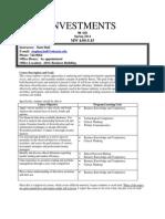 Investments Syllabus Spring2014