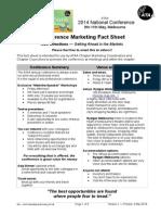 ATAA Conference Fact Sheet