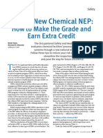 OSHA's New Chemical NEP: