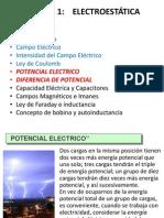 5v i.t.c. 18-04-2013 u 1 Potencial Electrico y Diferencia de Potencial