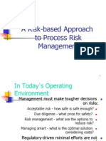 Introduction to Risk Based Approch