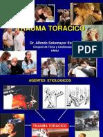 Trauma Toracico Unmsm 2013