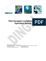 ANMS Pilot Navigator Instalaltion and Operation Manual