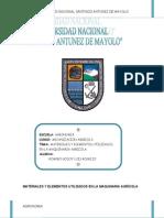 MATERIALES Y ELEMENTOS UTILIZADOS EN LA MAQUINARIA AGRÍCOLA IMPRIMIR