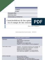 Caracteristicas de las epistemologías e investigación en educación 1