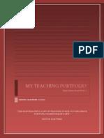 Teaching Portfolio Milton Martinez IX Semester
