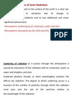 Attenuation of Beam Radiation