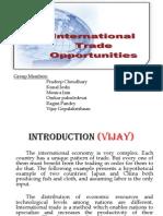 international trade oppoutunities