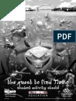 f Nemo Study Sheets