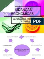 Mudanças no Mercado de trabalho _Globalização_TIC