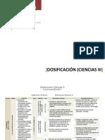 Dosificación Ciencias2013-2014