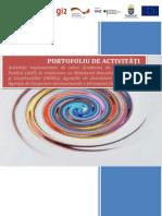 PORTOFOLIU DE ACTIVITĂȚI