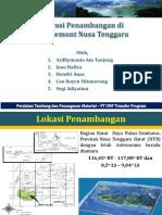 Presentasi Peralatan Tambang PT.nnt