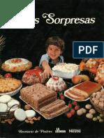Dulces Sorpresas Recetario de Postres Nestle
