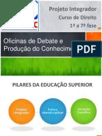 Apresentacao+ +Oficinas+de+Debate+e+Producao+Do+Conhecimento+ +2014 1