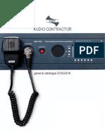 FBT Audio Contractor Catalogue 2013