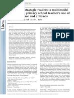 Developing Strategic Readers- a Multimodal