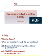 Safety Training Hydrojetting of Exchangers General