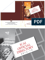 29833ICAI Official Directory 2013 14