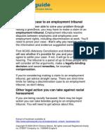 Race Discrimination at Work part 2
