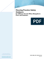 Mooring Practice Safety Guidance