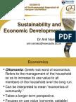 Day 1 - Sustainability and Economic Development(1)