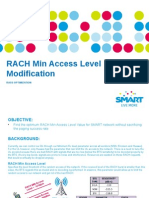 RACH Min Access Level Modification