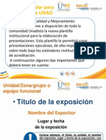 Plantilla Estandar Para Presentaciones Power Point UNAD 004-015-1