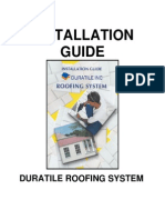 Duratile Roofing System Installation Guide