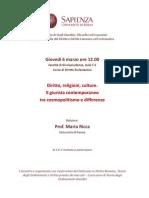 2014.03.06 Roma - Diritto e Religioni
