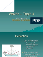 Topic 4 - Reflection and Refraction