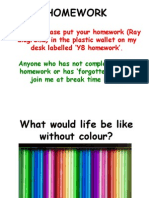 Tue Colours Powerpoint