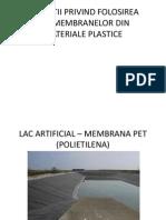 Aplicatii Privind Folosirea Geomembranelor Din Materiale Plastice