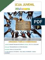 Cartel de Pascua Juvenil 2014
