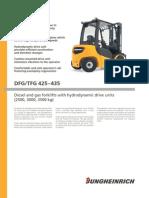 Product Information Dfg Tfg425-435