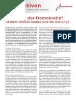Perspektiven 6 2012 Mehr Demokratie