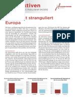 Perspektiven 4 2012 Fiskalpakt Eurobonds